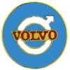 VOLVO PIN CAR ROUND LOGO BLUE VOLVO PIN