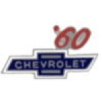 CHEVROLET 1960 YEAR LOGO PIN