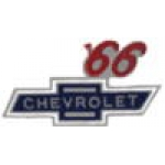CHEVROLET 1966 YEAR LOGO PIN