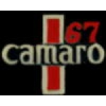 CHEVROLET CAMARO PIN 1967 YEAR LOGO PIN