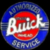 BUICK AUTHORIZED SERVICE BUICK PIN
