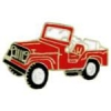 JEEP RED TOPLESS PIN