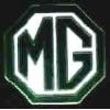 MG CAR LOGO BLACK PIN