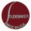 STUDEBAKER PIN RED BALL LOGO STUDEBAKER HAT LAPEL PIN