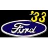 FORD 1933 YEAR LOGO PIN