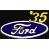 FORD 1935 YEAR LOGO PIN