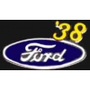 FORD 1938 YEAR LOGO PIN