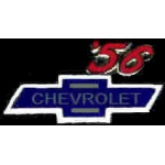 CHEVROLET 1956 YEAR LOGO PIN