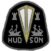 HUDSON CAR BLACK LOGO PIN