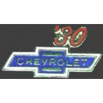 CHEVROLET 1930 YEAR LOGO PIN