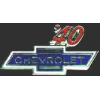 CHEVROLET 1940 YEAR LOGO PIN