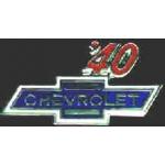 CHEVROLET 1940 YEAR LOGO PIN