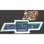CHEVROLET 1948 YEAR LOGO PIN