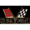 CHEVROLET 396 TURBO-JET LOGO PIN