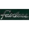 FORD FAIRLANE SCRIPT PIN