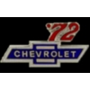 CHEVROLET PIN 1972 YEAR LOGO PIN