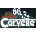 CHEVROLET CORVETTE 1966 YEAR LOGO PIN
