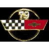 CHEVROLET CORVETTE 1979 YEAR LOGO PIN