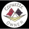 CHEVROLET CORVETTE OWNER PIN