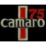 CHEVROLET CAMARO PIN 1975 YEAR LOGO PIN