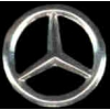 MERCEDES BENZ CUTOUT SILVER
