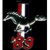 FORD MUSTANG 1989 YEAR LOGO PIN