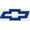 CHEVROLET BOWTIE BLUE LOGO PIN