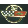 CHEVROLET CORVETTE 1995 YEAR LOGO PIN