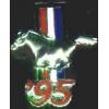 FORD MUSTANG 1995 YEAR LOGO PIN