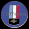 CHEVROLET CAMARO ROUND LOGO BLUE PIN