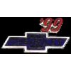 CHEVROLET 1999 YEAR LOGO PIN