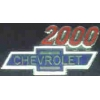 CHEVROLET 2000 YEAR LOGO PIN
