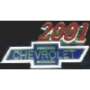 CHEVROLET 2001 YEAR LOGO PIN