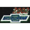 CHEVROLET 2002 YEAR LOGO PIN