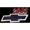 CHEVROLET 2003 YEAR LOGO PIN