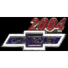 CHEVROLET 2004 YEAR LOGO PIN