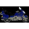 HONDA GOLDWING MOTORCYCLE 1500 SERIES BLUE PIN