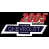 CHEVROLET 2005 YEAR LOGO PIN