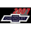 CHEVROLET 2007 YEAR LOGO PIN