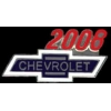 CHEVROLET 2008 YEAR LOGO PIN