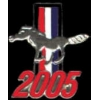 FORD MUSTANG 2005 YEAR LOGO PIN