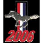 FORD MUSTANG 2006 YEAR LOGO PIN