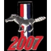 FORD MUSTANG 2007 YEAR LOGO PIN