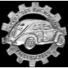 GERMAN CAR WITH CITY OF EARLY PRODUCTION CAST PIN
