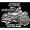 JESUS RIDES WITH ME MOTORCYCLE PIN