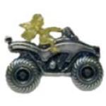 ATV PIN GUARDIAN ANGEL PIN DX