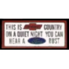 CHEVROLET OWNERS MOTTO PIN