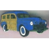WOODY CAR BLUE