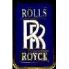 ROLLS ROYCE LOGO BLUE PIN