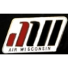AIR WISCONSIN LOGO PIN